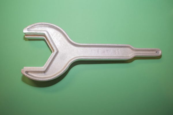 "Bulk Tank Wrench 3' 3inch and 3.5 inch 3 1/2"" open end wrench"